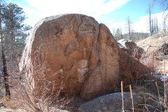 Rock Climbing Photo: Boulder D.