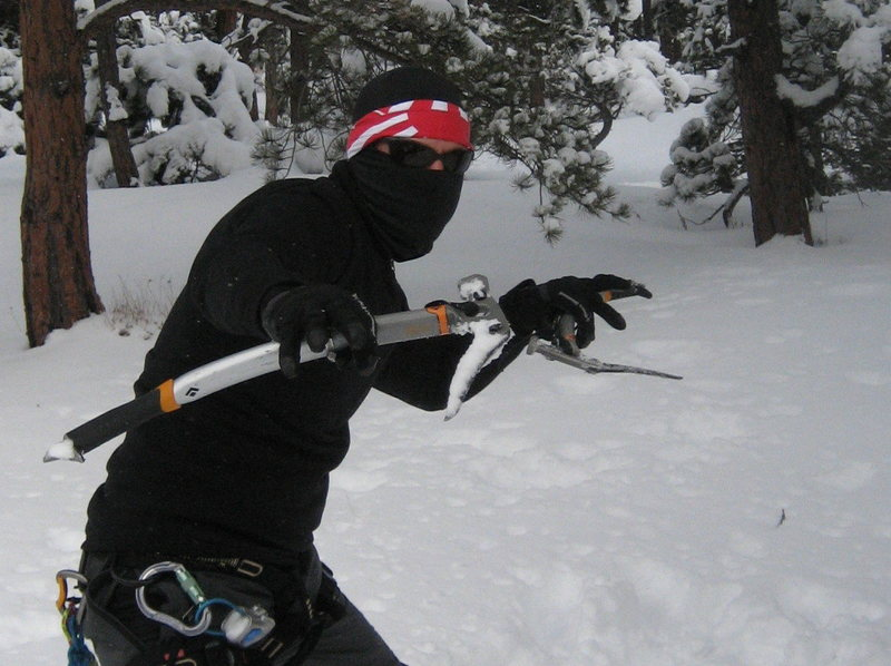 Rock Climbing Photo: The Illusive Rocky Mountain Powda Ninja