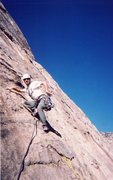 Rock Climbing Photo: Other than starting up pitch two, I'm not sure wha...