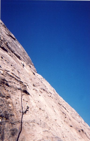 Dan Millis near the top of pitch two
