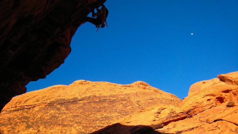 Rock Climbing Photo: On Sweet Pain