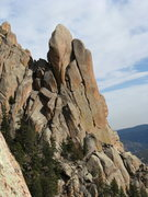 Rock Climbing Photo: West side of Cynical Pinnacle, taken from Sunshine...