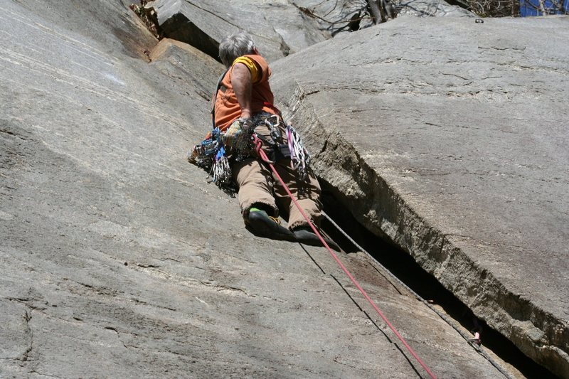 first crux (hint- look up and right)