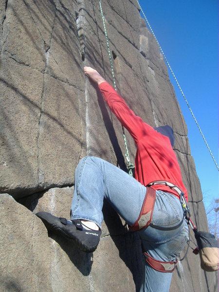 Rock Climbing Photo: Me on the bulge