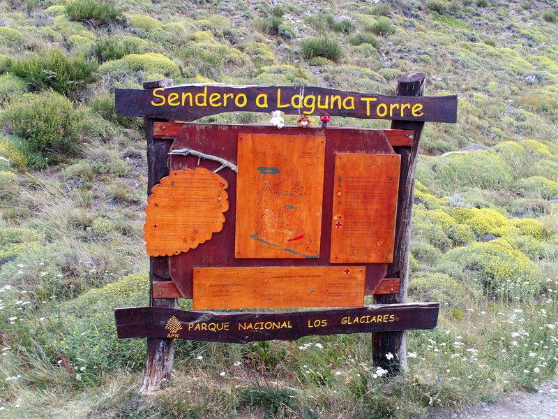 Rock Climbing Photo: The trail to Cerro Torre. Dec 2009