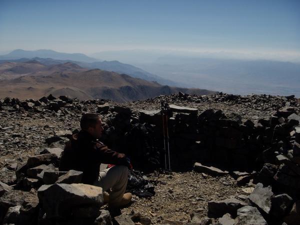 Rock Climbing Photo: Top of White Mountain