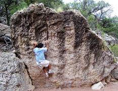 Rock Climbing Photo: Great bouldering areas at Shelf Road, photo: Bob H...