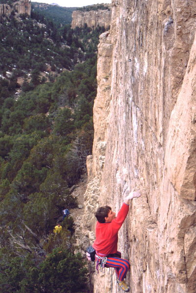 Rock Climbing Photo: Quality sport climbing at the Shelf, photo: Bob Ho...