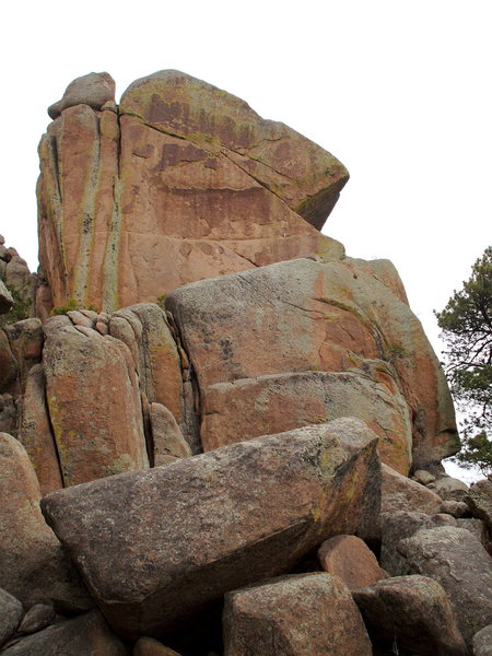 Rock Climbing Photo: The turkey in the rocks, Turkey Rocks, CO. photo: ...