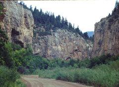 Rock Climbing Photo: Rifle Mountain Park, photo: Bob Horan.