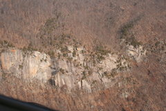 Rock Climbing Photo: aerial of Hanging Chain area