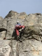 Rock Climbing Photo: The upper corner is fun enough, but a big grungy, ...