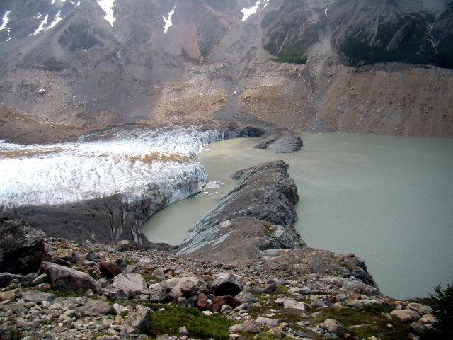 Glacier Torre. Dec 30th 2008.