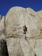 Rock Climbing Photo: Joshua Tree, Sorry I don't remember the name.