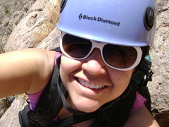 Rock Climbing Photo: Climbing Checker Board in Las Cruces, NM