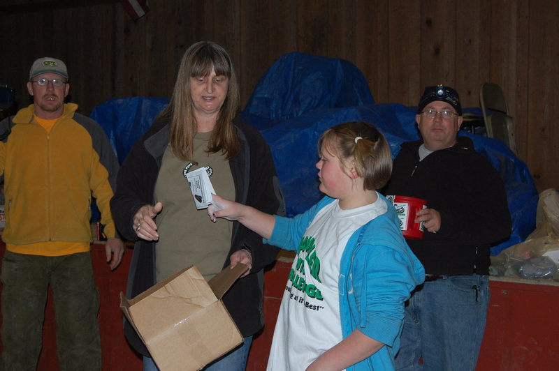 Rock Climbing Photo: Kaitlyn Hayes helping with the srcfc gear giveaway...