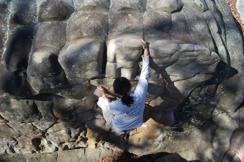 Rock Climbing Photo: Jane Lu (srcfc member)
