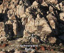 Rock Climbing Photo: Schoolyard Bully