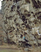 Rock Climbing Photo: Makanda Bluff, Southern, Illinios, photo: Bob Hora...
