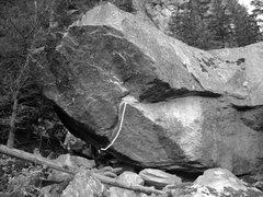 Rock Climbing Photo: 1. Scarface V5
