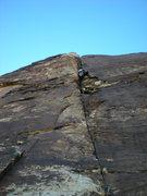 Rock Climbing Photo: its gettin steep