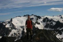Rock Climbing Photo: Selkirks, B.C, Canada summer 08'.