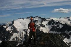 Rock Climbing Photo: Moonlight Peak, Selkirks, B.C, Canada.