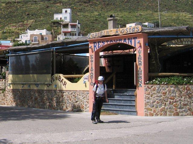 Restaurant on Kalymnos.