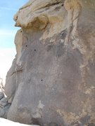 Rock Climbing Photo: Symbolic topo