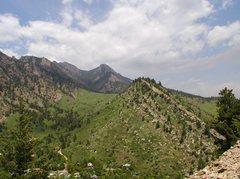 Rock Climbing Photo: Dakota Hogback east of El Dorado Canyon, near Boul...