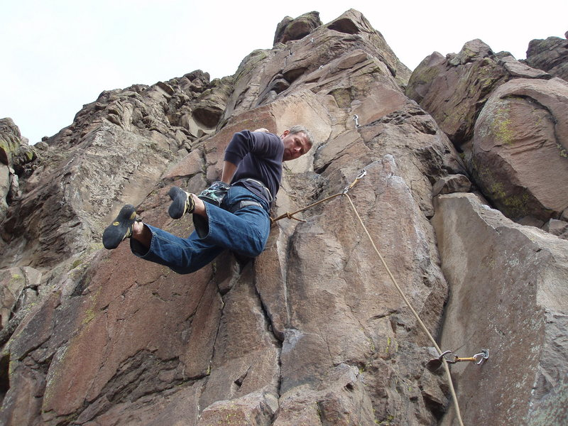 Rock Climbing Photo: Unlike the average 9 to 5,  Way too fun....