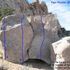 Photo/topo for Papa Boulder (East Face), Joshua Tree.