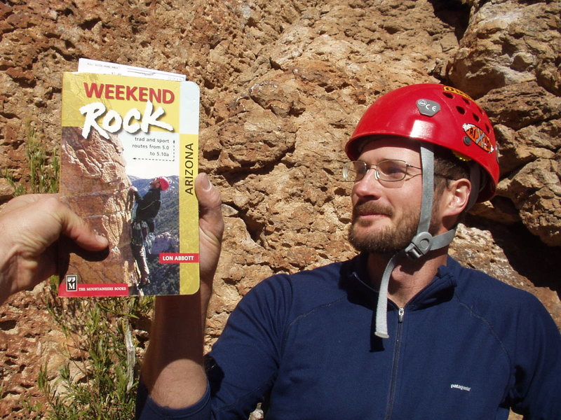 My apparent doppelganger stealing my thunder on the cover of Weekend Rock