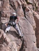 Rock Climbing Photo: One of my first leads