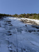 Rock Climbing Photo: Willey's Slide, NH.