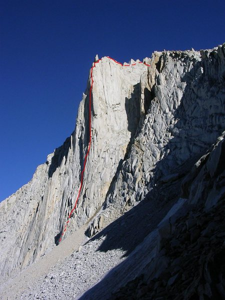 Rock Climbing Photo: Merriam's North Buttress