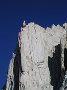 Rock Climbing Photo: Upper North Buttress