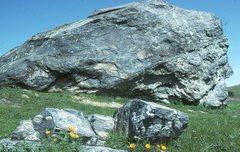 Rock Climbing Photo: Turtle Rock. Tiburon Peninsula, CA.  This block, a...