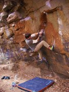 Rock Climbing Photo:  starting Orb Weaver V7