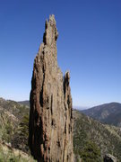 Rock Climbing Photo: Monastery, east of Estes Park, CO.  Pegmatite sill...