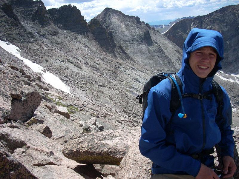 Rock Climbing Photo: Me at the Keyhole.