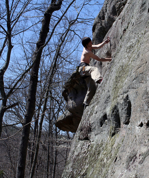 Rock Climbing Photo: Kill Bill.