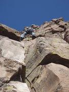 Rock Climbing Photo: Mid trot.