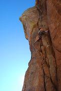 Rock Climbing Photo: Capt. Burke leading Blood Book in fine style. Jan ...
