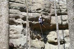 Rock Climbing Photo: Deep Throat