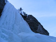 Rock Climbing Photo: The Outdoorsman-Notice the spurting water in the p...
