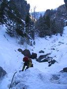 Rock Climbing Photo: Cody approach-Dave H.