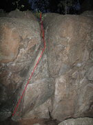 Rock Climbing Photo: Fun SDS crack problem, not very hard though as you...