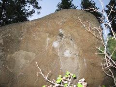 Rock Climbing Photo: This one seems pretty tough.