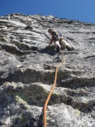 Rock Climbing Photo: Last Pitch of Travelers Buttress